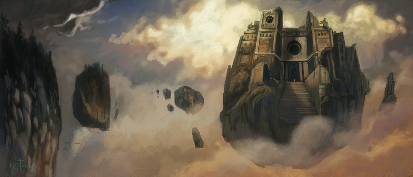 Sky Temple by NathanRosario