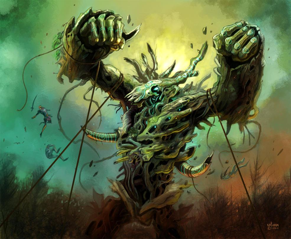 Life Colossus - Rift by NathanRosario