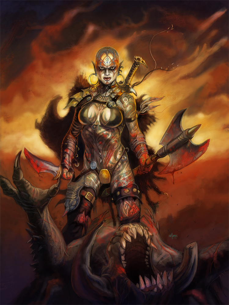 Asgard-hegység - Page 4 Female_thrall___talislanta_by_nathanrosario-d3vba4i