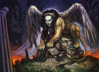 Sphinx by NathanRosario