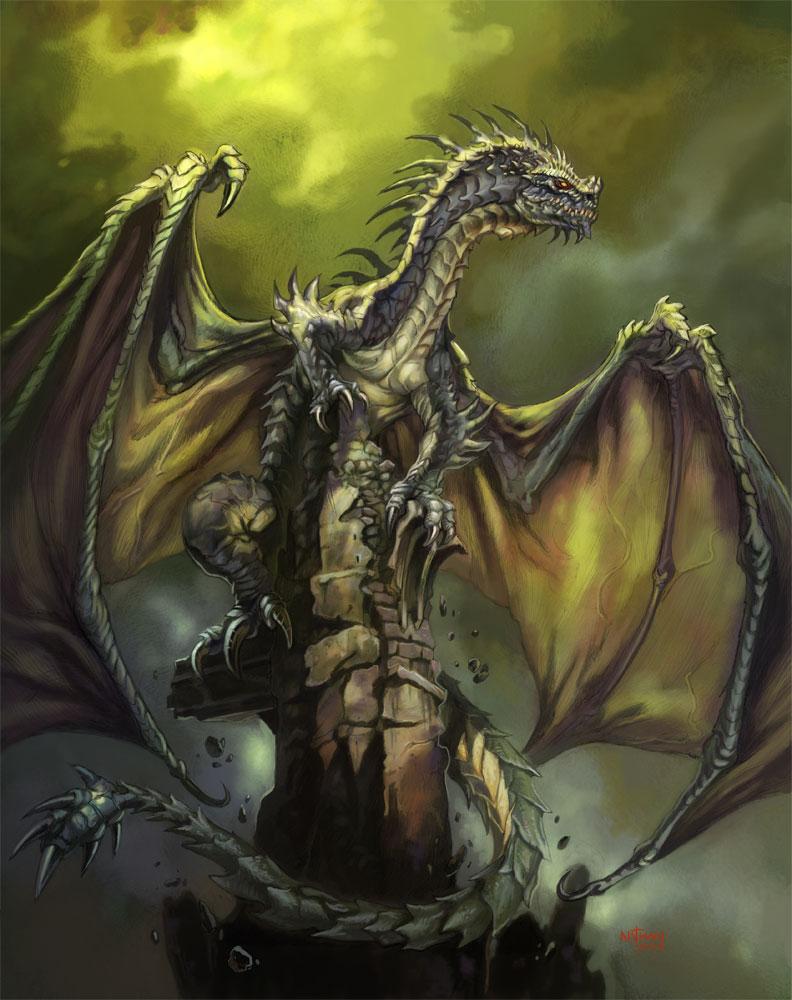 Blade-dragon by NathanRosario
