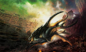 Kaiju Creature 01