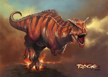 Primal Rage - Diablo by NathanRosario