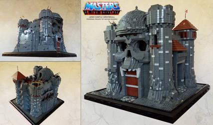 LEGO Castle Grayskull by NathanRosario