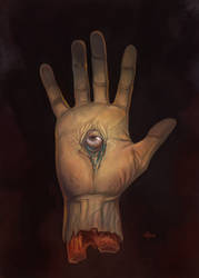 The Hand by NathanRosario