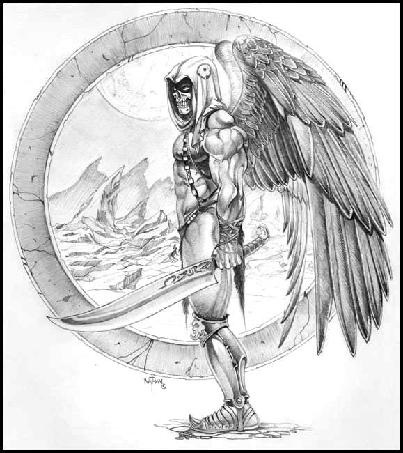 Grim reaper by nathanrosario on deviantart grim reaper by nathanrosario voltagebd Images
