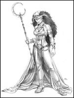 Barbarian Queen by NathanRosario