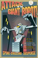 Robot Attack by NathanRosario