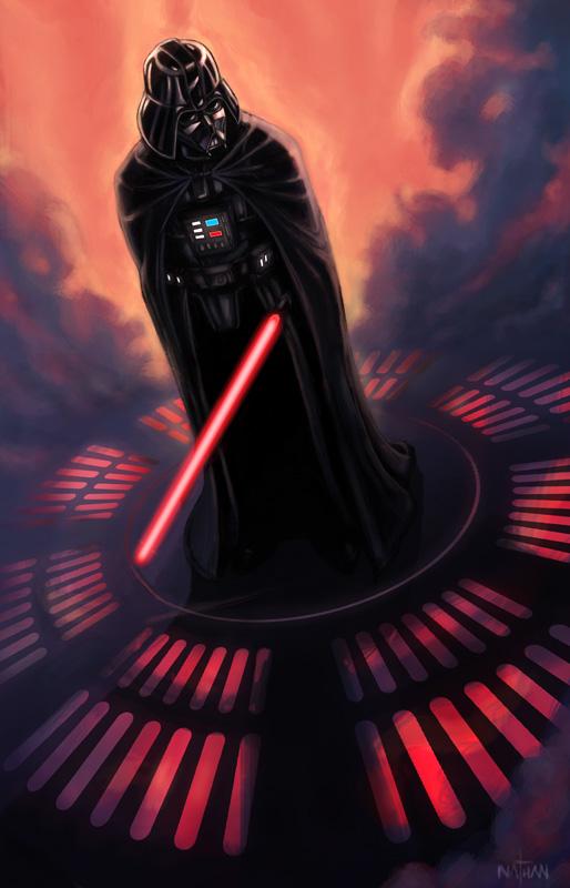Darth Vader by NathanRosario