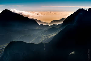 Maido over Mafate - 1 (Reunion island) by OlivierAccart