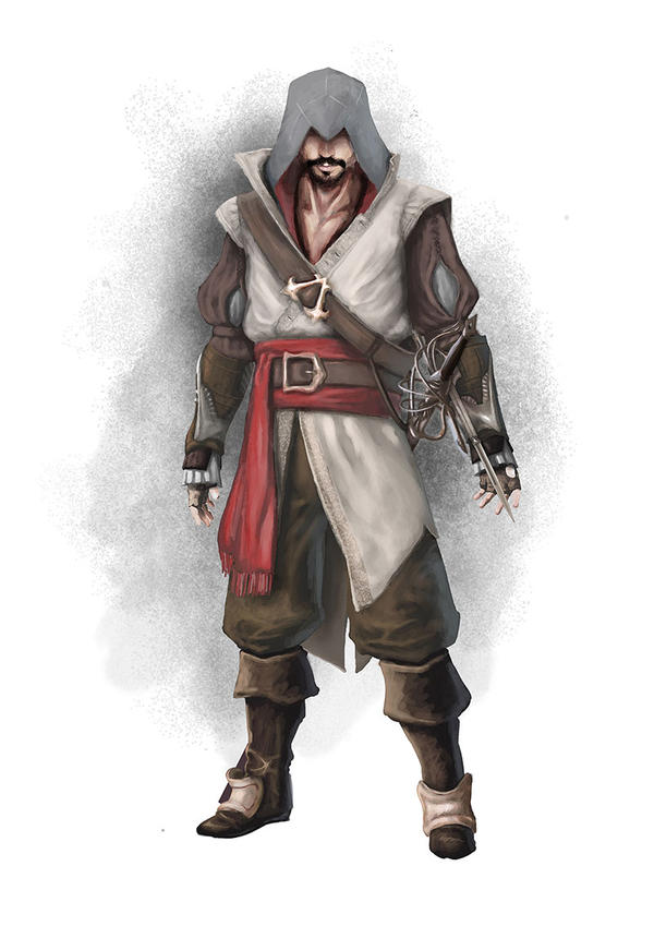 Arnaldo Aguilar - Spanish Assassin.Concept by Phonon