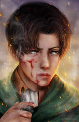 Levi Ackerman by Suixere