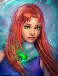 Starfire by Suixere
