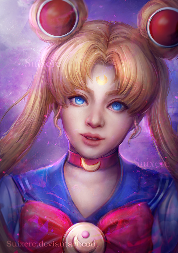 Sailor Moon V.2 by Suixere