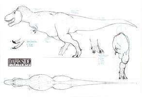 T. rex Body by Kronosaurus82