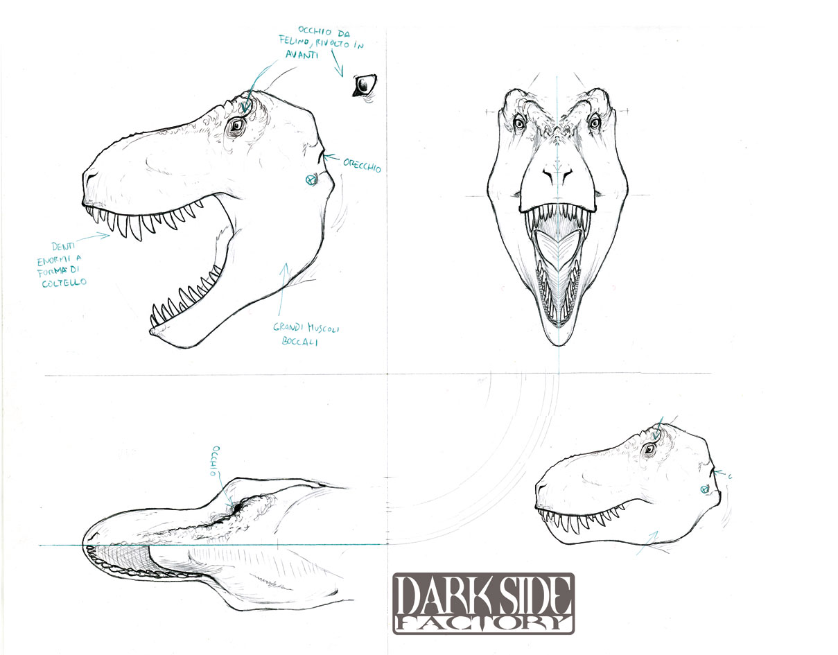 T Rex Head By Kronosaurus82 On Deviantart