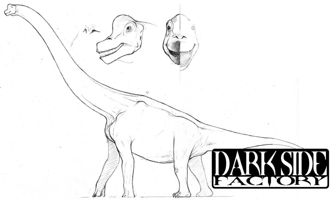 Brachiosaurus altithorax by Kronosaurus82