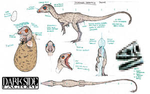 Scipionyx MS - Nestling by Kronosaurus82