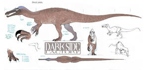 Baryonyx Model Sheet - Body