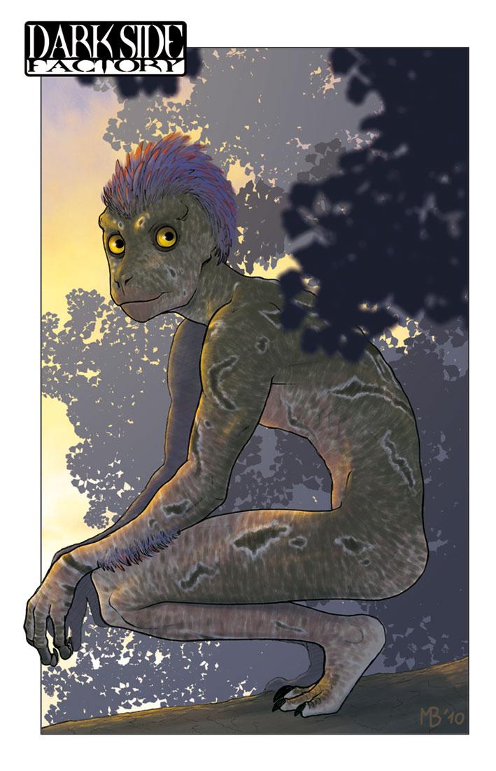 Dinosauroid by Kronosaurus82