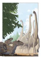 Jurassic Morning by Kronosaurus82