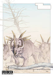 Spiked Herd by Kronosaurus82