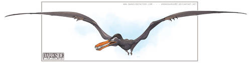Abaquar - Kitakyushu Pterosaur COLOR vers. by Kronosaurus82