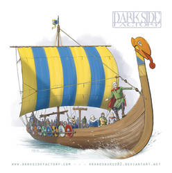 Viking Longship by Kronosaurus82
