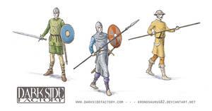 Medieval Army Men