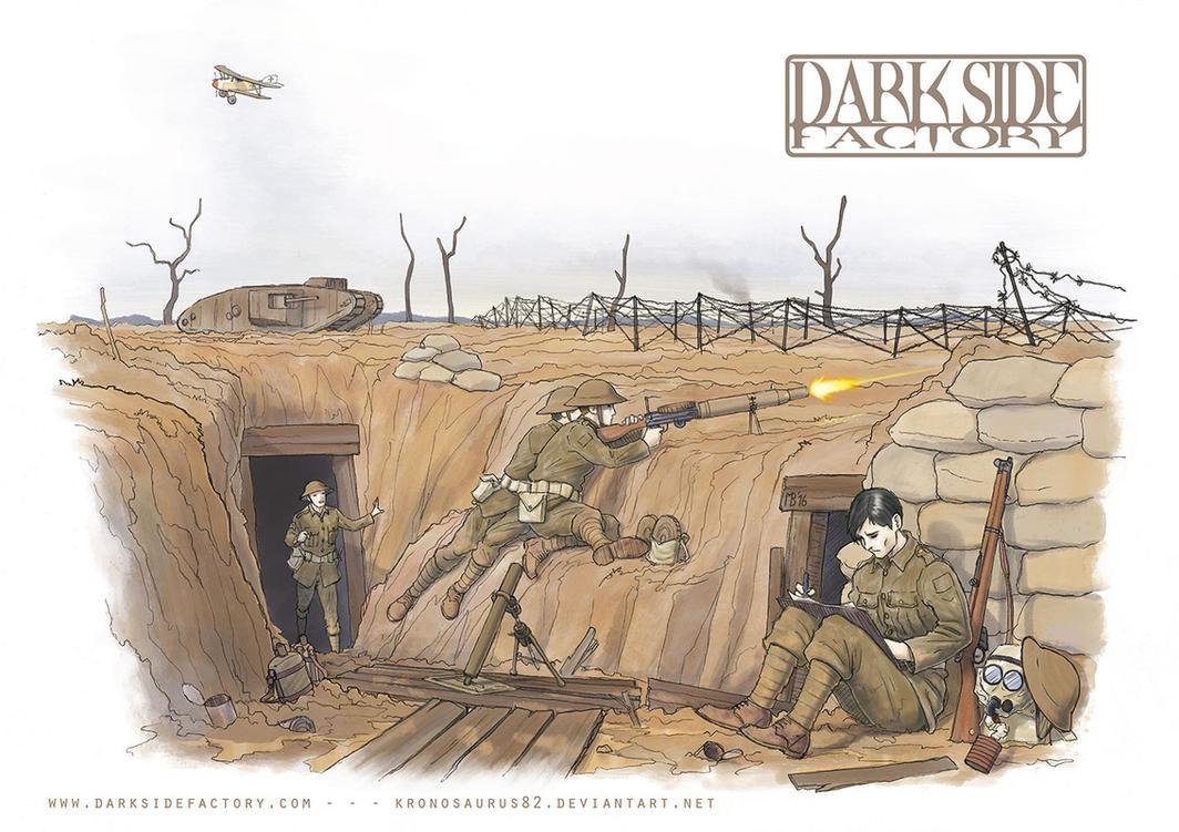 World War One by Kronosaurus82