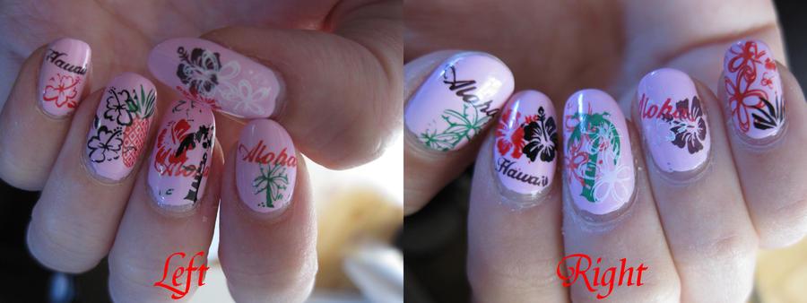 Hawaii Nail Art