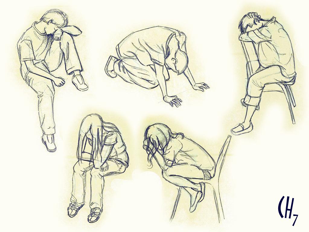 Figure Drawing Sad By Chuunin7 On Deviantart