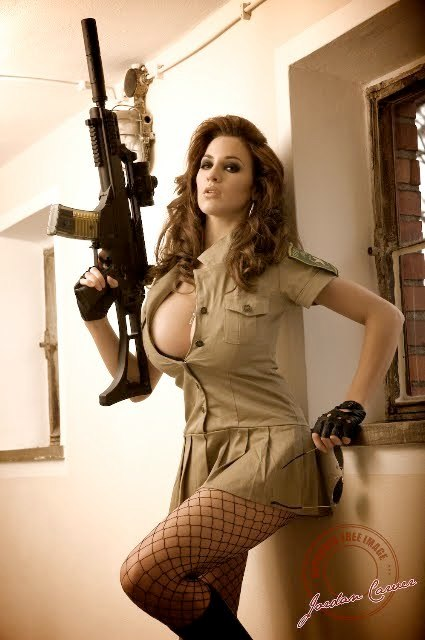 chicks_with_guns_by_misterd1948-d4i8flm.