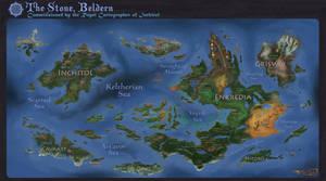 Beldern World Map