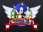 Sonic the hedgehog 4 Logo by teh-peng00in