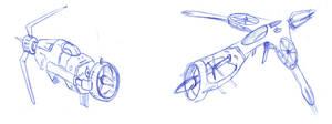 corkscrew spaceships