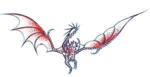 HTTYD Razorwhip Sketch