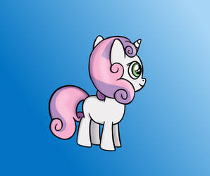 Sweetie Belle by SteamFlash