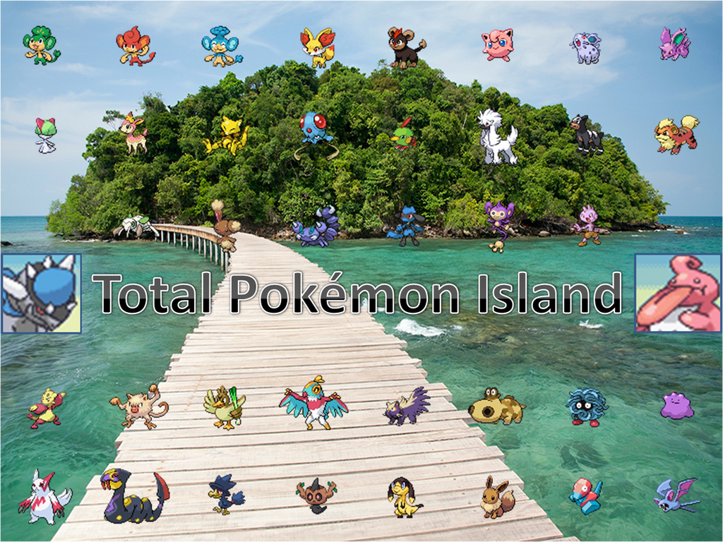 total pokemon island contestants by totalpokemon on deviantart
