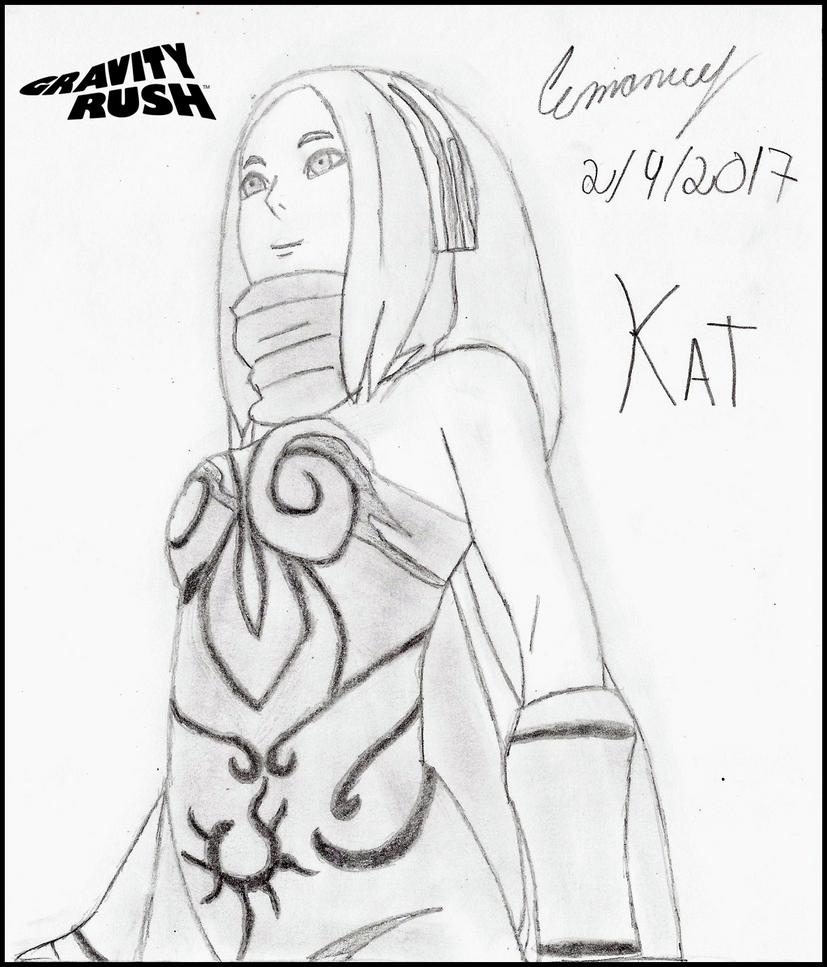 Kat #2 (Gravity Rush) by BicycleIzation