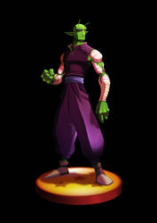 Piccolo (with no cloak) by EduHerrera