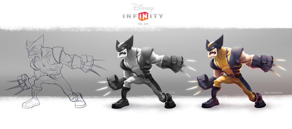 Wolverine Infinity by EduHerrera