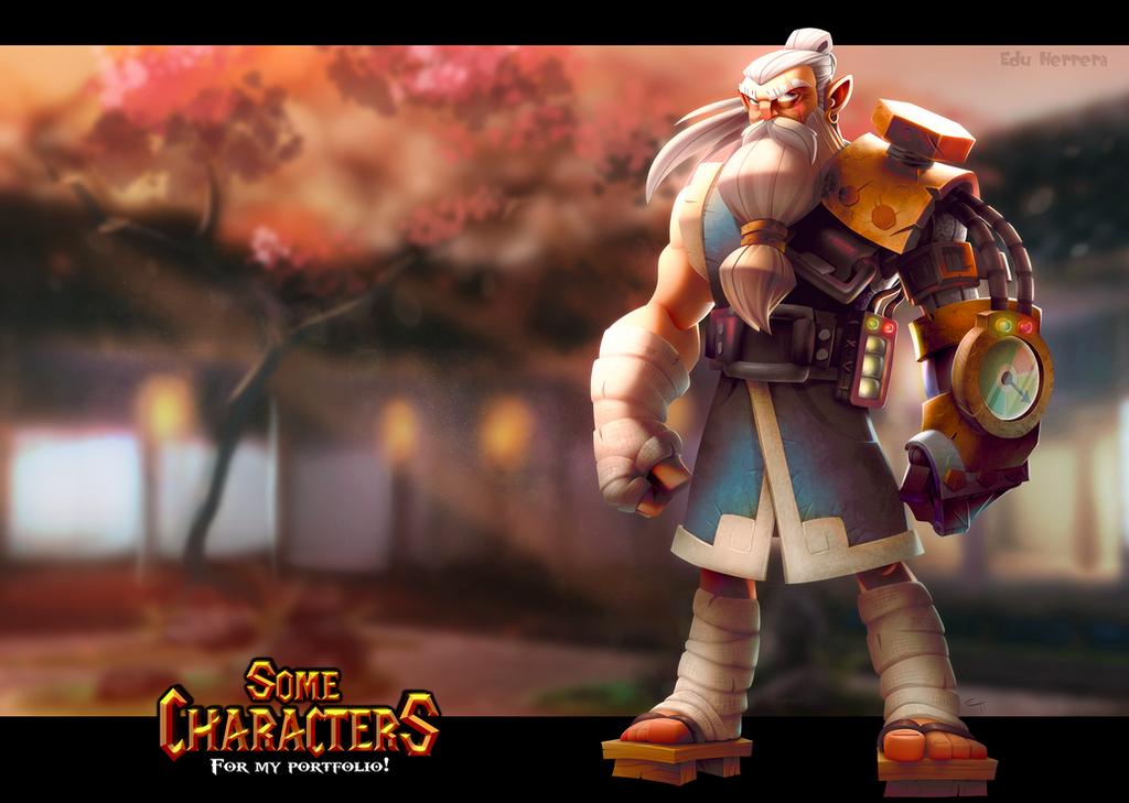 SteamPunk Samurai by EduHerrera