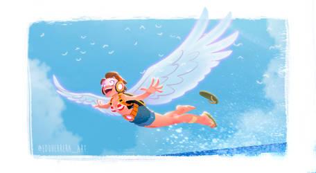 Holo-Wings Girl