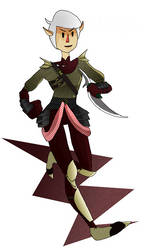 Rogue elf by exile-fusi