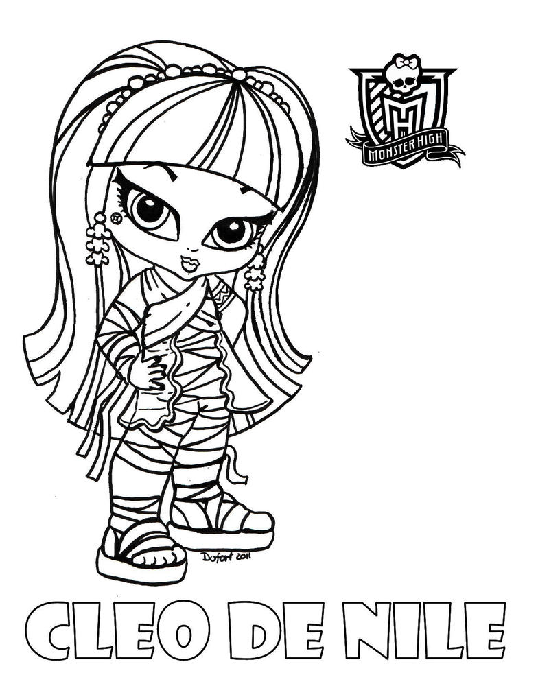 cleo de nile coloring pages - photo#24