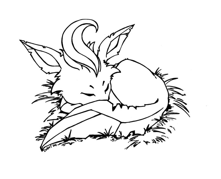 leafeon coloring pages - photo#30