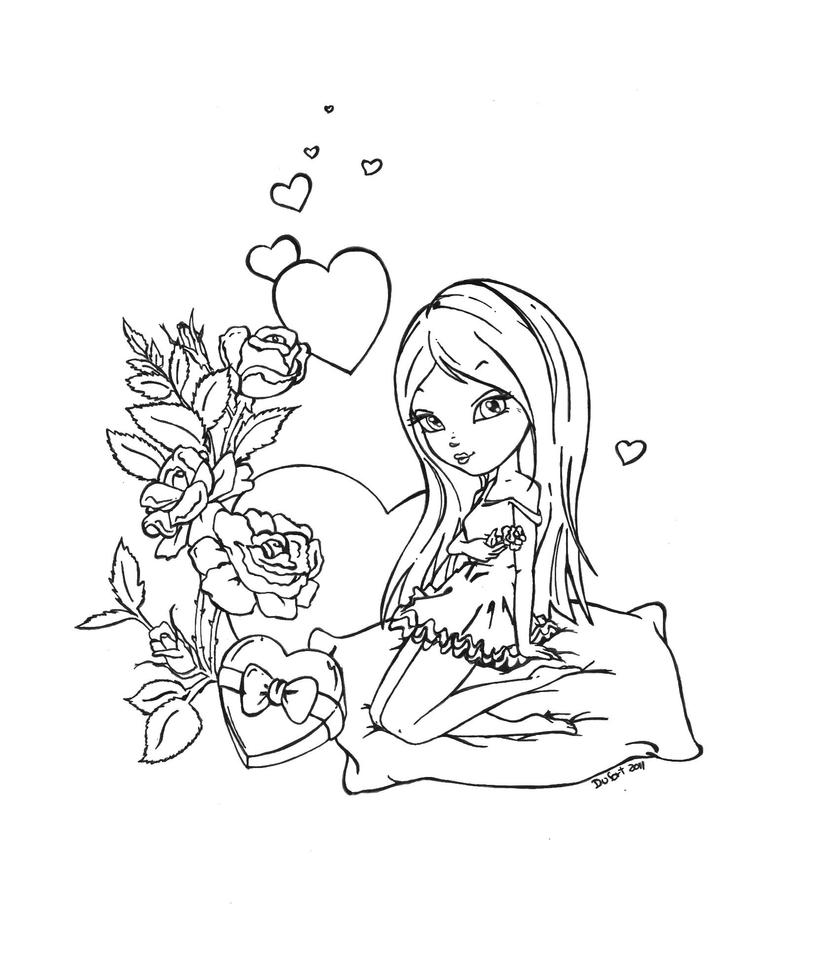 jadedragonne deviantart coloring pages - photo#10