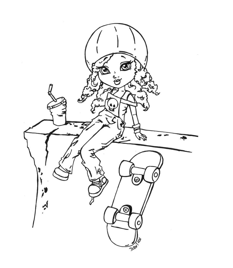 resting coloring pages - photo#11