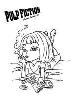 Pulp Fiction by JadeDragonne